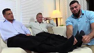 Johnny and Joey gets feet worship