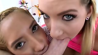 Chloe Amour Gapes for Cali Carter and Mike Adriano