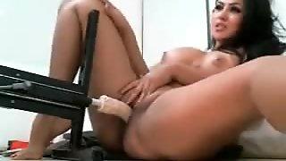 Sexy busty milf machine fuck on web